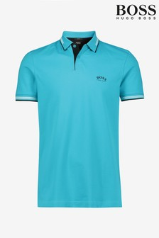 BOSS Blue Paul Curved Poloshirt