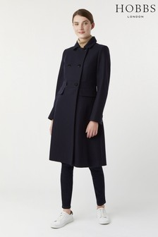Hobbs Navy Corrine Coat