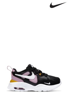 Nike Black/Pink Fusion Trainers