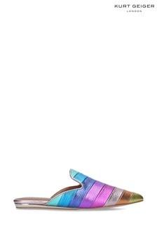 Kurt Geiger London Pink Kita Rainbow Shoes
