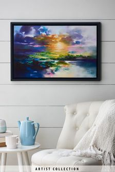Artist Collection 'Sunset Glare' by Scott Naismith Canvas Art
