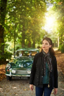Regatta Black Lady Country Wax Jacket