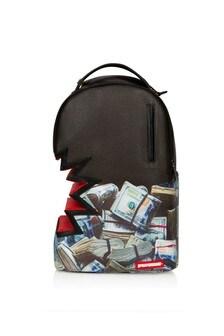Sprayground Kids Black Money Bite Backpack