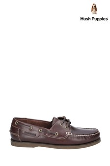 Hush Puppies Brown Henry Classic Lace-Up Shoes