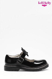 Lelli Kelly Black Dog Shoes