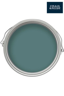 Chalky Emulsion French Turquoise 2.5L Paint by Craig & Rose