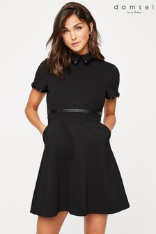 Damsel In A Dress Black Charlotta Tailored Dress