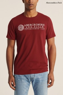 Abercrombie & Fitch Red Heritage T-Shirt