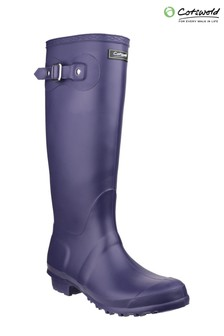 Cotswold Purple Sandringham Wellington Boots