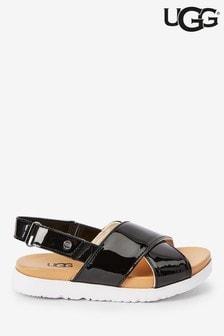 UGG® Black Klara Sandals