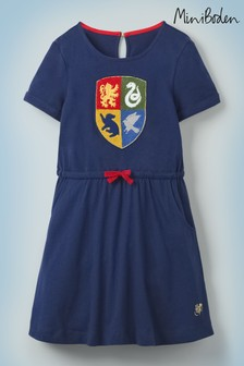 Mini Boden Harry Potter Hogwarts Crest Dress