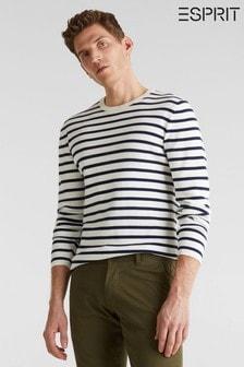 Esprit Natural Horizontally Striped Sweater