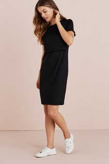 Maternity/Nursing Layer Detail Dress