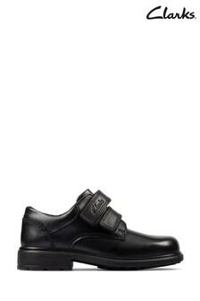Boys Derby School Shoes   Wide Fit