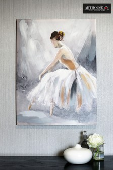 Ballerina Neutral Canvas by Arthouse