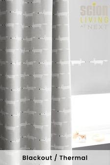 Scion Living At Next Eyelet Blackout Curtains