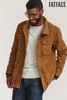 Fat Face Brown Porthleven 4 Pocket Jacket