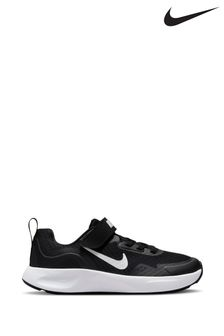 Nike Black/White WearAllDay Junior Trainers
