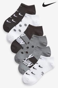 Nike Lightweight Cushioned Trainer Socks Six Pack