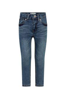 Levis Kidswear Boys Blue Cotton Jeans