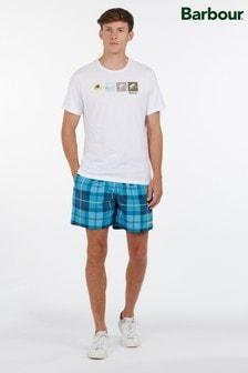Barbour® Tartan Swim Shorts