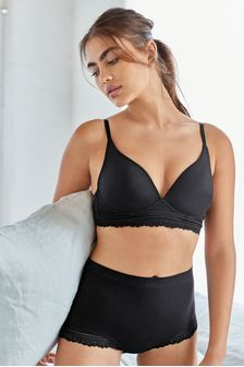 Forever Comfort® Daisy Supersoft Wire Free Lightly Padded Lounge Bra