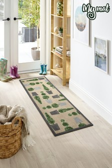 My Mat Topiary Washable Runner