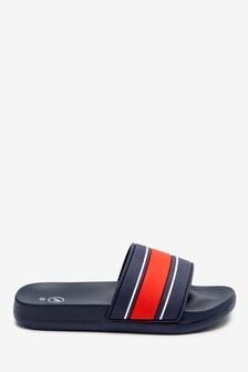 Cushioned Footbed Sliders (Older)