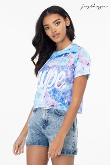 Hype. Unicorn Dream Womens Crop T-Shirt