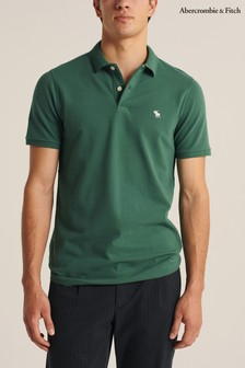 Abercrombie & Fitch Green Core Poloshirt