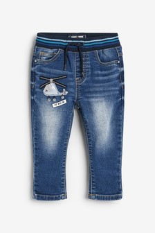 Helicopter Relaxed Fit Jeans (3mths-7yrs)