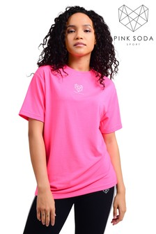 Pink Soda Heron Boyfriend T-Shirt