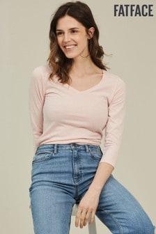 FatFace Pink Lauren T-Shirt