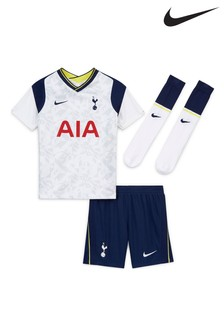 Nike Tottenham Hotspur Football Club 2021 Little Kids Home Set