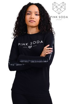 Pink Soda Rowe Tape T-Shirt