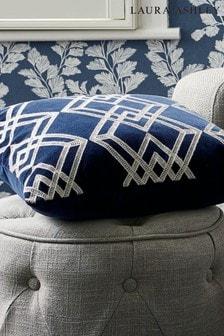 Laura Ashley Midnight Maddison Cushion
