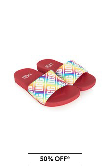 UGG Kids Multicolour Sliders