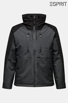 Esprit Black/Grey Windbreaker Jacket