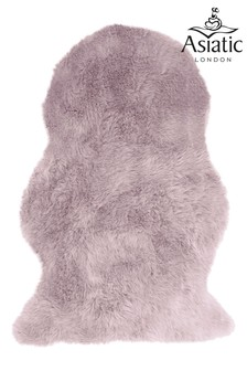 Asiatic Rugs Pink Faux Sheepskin Auckland Rug
