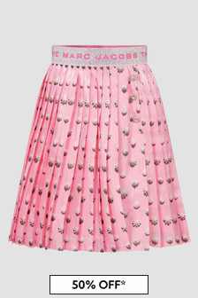 Marc Jacobs Girls Pink Skirt