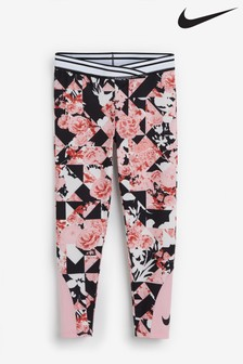 Nike Little Kids Floral Leggings