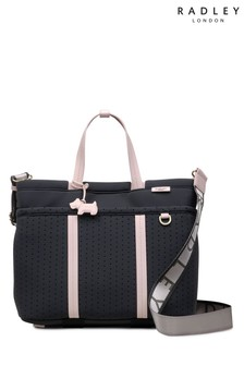 Radley Grey Crofters Way Medium Ziptop Multiway Bag