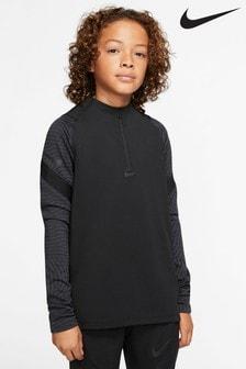 Nike Black Strike Drill Top