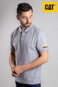 CAT® Grey Essentials Polo