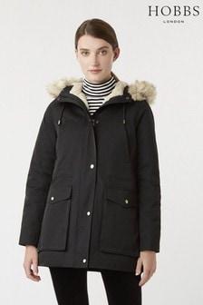 Hobbs Black Florence Coat