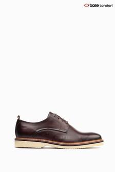 Base London Brown Grady Derby Shoes