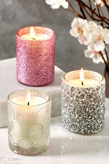 Set of 3 Iced Berry Candles