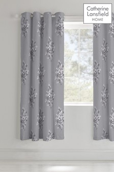 Floral Bouquet Eyelet Curtains by Catherine Lansfield