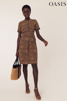 Oasis Natural Myla Animal Utility Dress