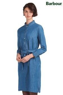 Barbour® Coastal Mid Wash Denim Robertshaw Tunic Dress